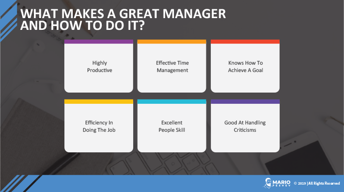 traits of a great manager